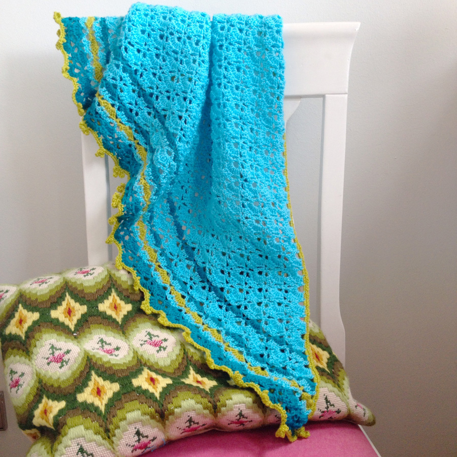 Crochet South Bay Shawlette Bypetra