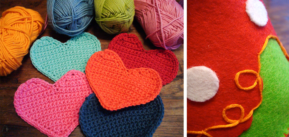 crocheted-heart-garland