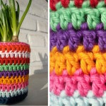 crocheted-jar-cover